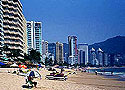 The famous Acapulco beaches and hotels