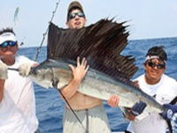 Fishing in Cozumel