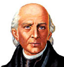 Miguel Hidalgo, often called the Father of Mexico.