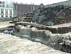 Templo Mayor, Modern Day Mexico City